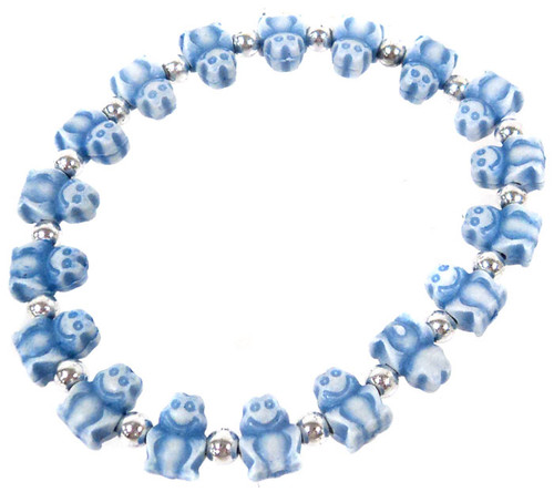Frogz Blue Frogs Bracelet