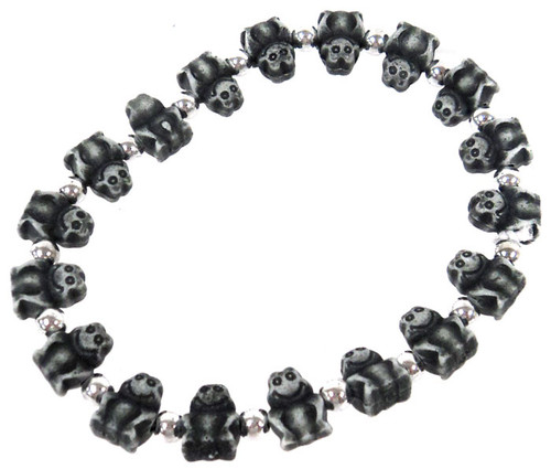 Frogz Black Frogs Bracelet