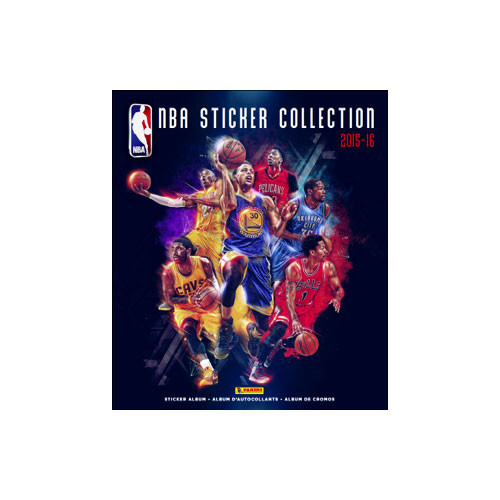 NBA Basketball Panini 2015-16 Basketball Sticker Collection Album