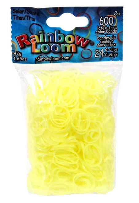 Rainbow Loom Solar UV Color Changing Titan Rubber Bands Refill Pack [600 Count]