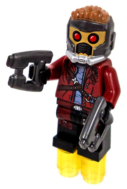 LEGO Marvel Guardians of the Galaxy Star-Lord with Open Jacket Minifigure [Loose]