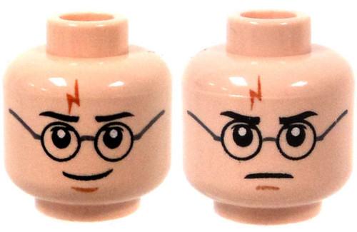 Light Flesh Harry Potter Lightning Mark & Glasses Head [Dual-Sided Print Loose]