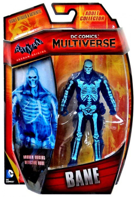 Batman Arkham Origins DC Comics Multiverse Bane Action Figure [Detective Mode]