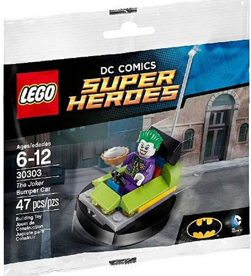 LEGO DC Universe Super Heroes The Joker Bumper Car Mini Set #30303 [Bagged]