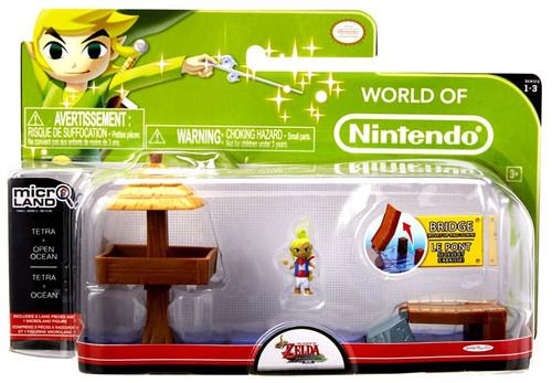 World of Nintendo New Super Mario Bros U Micro Land Playset Open Ocean & Tetra Playset