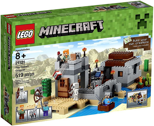 LEGO Minecraft The Desert Outpost Set #21121