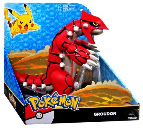 "Pokemon Legendary Groudon 8-Inch Large Figure [8""]"