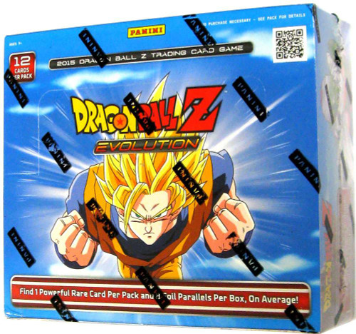 Dragon Ball Z Collectible Card Game Evolution Booster Box [24 Packs]