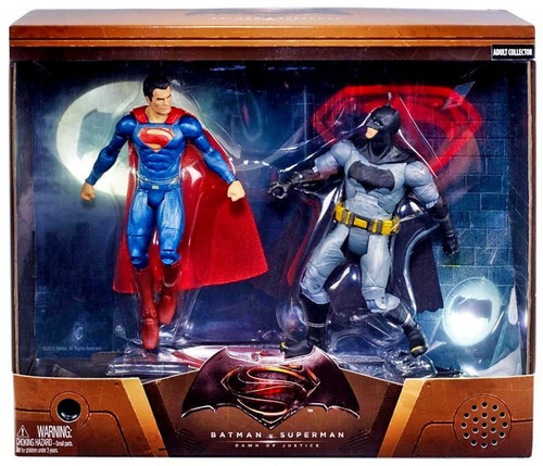 DC Batman v Superman: Dawn of Justice Batman & Superman Exclusive Action Figure 2-Pack