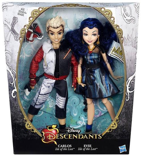 Disney Descendants Carlos & Evie 11-Inch Doll 2-Pack