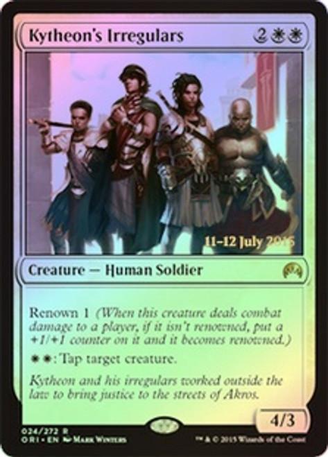 MtG Prerelease & Release Promo Kytheon's Irregulars [Magic Origins Prerelease]