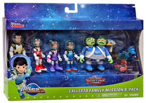 Miles From Tomorrowland Disney Junior Callisto Family Mission Exclusive Action Figure 6-Pack