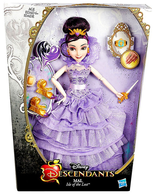 Disney Descendants Mal 11-Inch Deluxe Doll [Coronation]