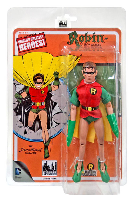 DC World's Greatest Heroes! First Appearances Series 1 Robin Action Figure [Yellow Cape]