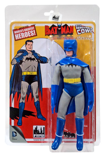 DC World's Greatest Heroes! First Appearances Series 1 Batman Action Figure [Removable Cowl]