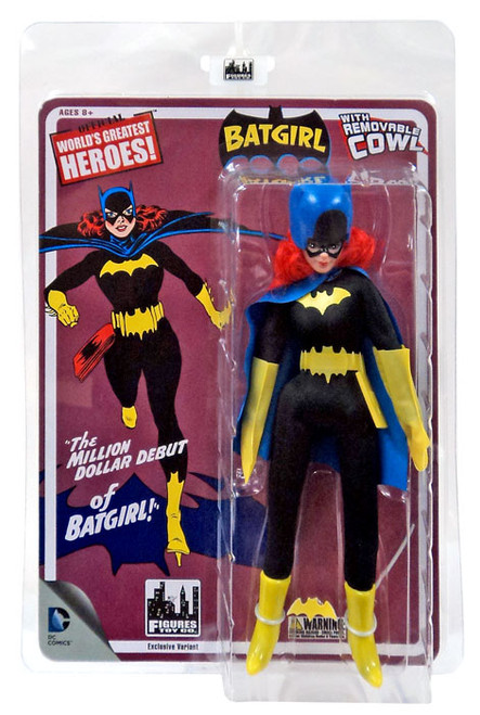 DC World's Greatest Heroes! First Appearances Series 1 Batgirl Action Figure [Removable Cowl]