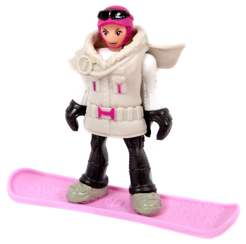 Fisher Price Imaginext Series 4 Snowboarder Mystery Minifigure [Loose]