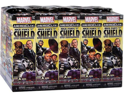 Marvel Heroclix Nick Fury, Agent of S.H.I.E.L.D Booster Brick [Hulkbuster Build a Clix]