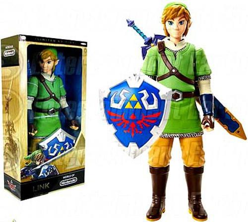 World of Nintendo Legend of Zelda Link Exclusive 20-Inch Big Deluxe Figure [Skyward Sword Variant, Damaged Package, Mint Figures]