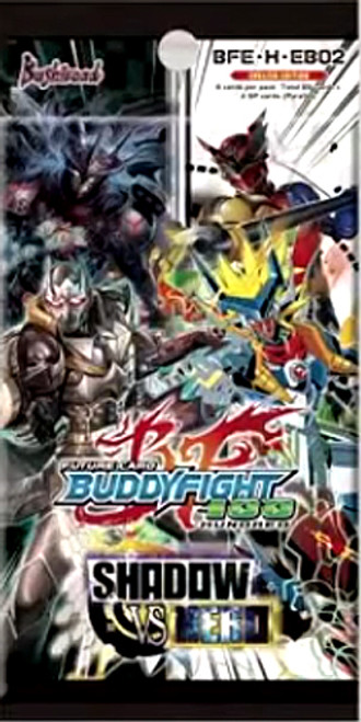 Future Card BuddyFight Trading Card Game Shadow vs. Hero Extra Booster Pack BFE-H-EB02 [6 Cards]