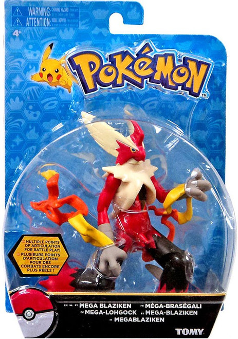 Pokemon Mega Blaziken Action Figure