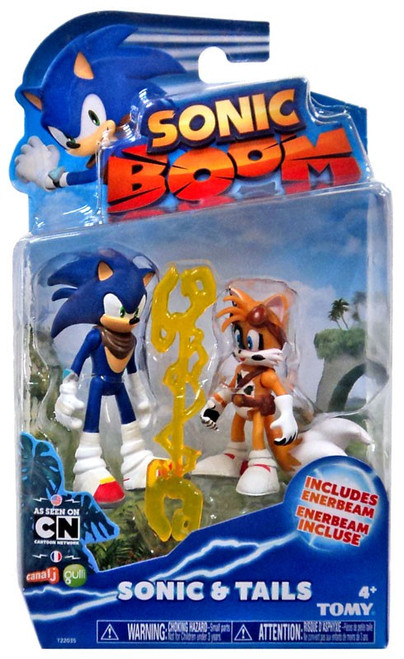 Sonic The Hedgehog Sonic Boom Sonic & Tails (Battle Damaged) Action Figure 2-Pack