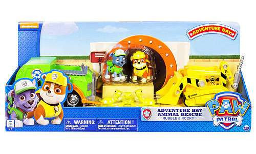 Paw Patrol Adventure Bay Animal Rescue Exclusive Playset [Rubble & Rocky]