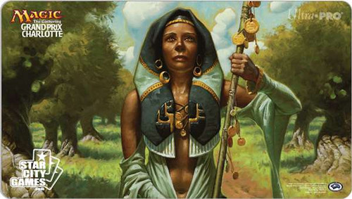 MtG Card Supplies Noble Hierarch Playmat [Grand Prix Charlotte 2015]