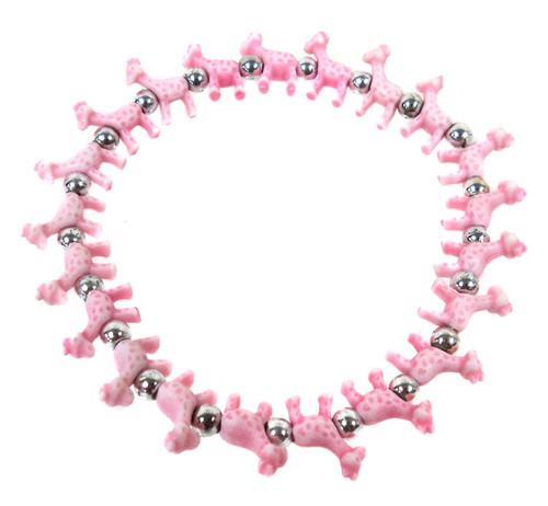 Giraffez Pink Giraffes Bracelet