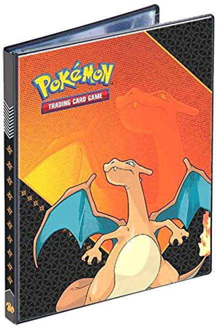 Ultra Pro Pokemon Trading Card Game Card Supplies Charizard 4-Pocket Binder