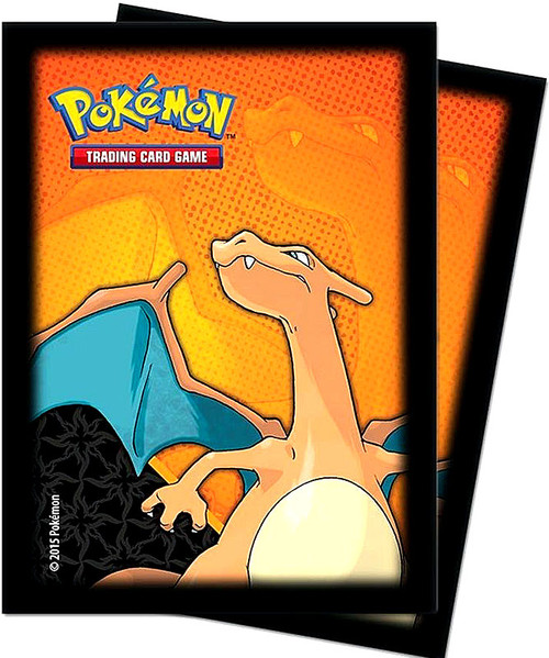 Ultra Pro Pokemon Trading Card Game Card Supplies Charizard Card Sleeves