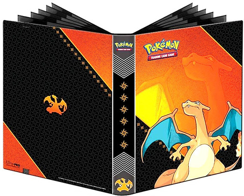 Ultra Pro Pokemon Trading Card Game Pro-Binder Charizard 9-Pocket Binder