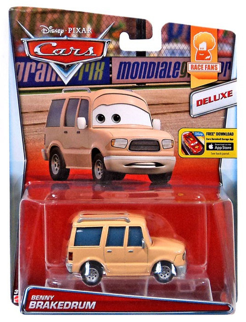 Disney / Pixar Cars Race Fans Benny Brakedrum Diecast Car #9/9