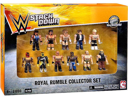 WWE Wrestling C3 Construction StackDown Royal Rumble Collector 11-Pack Set #21099