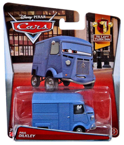 Disney / Pixar Cars Paul Oilkley Diecast Car #4/7
