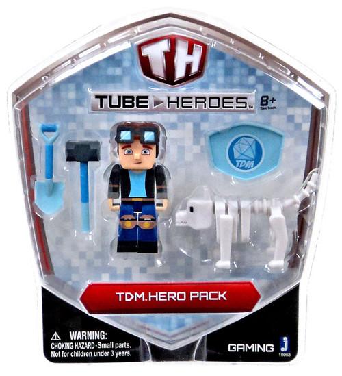 Tube Heroes TDM Exclusive Action Figure [Hero Pack]