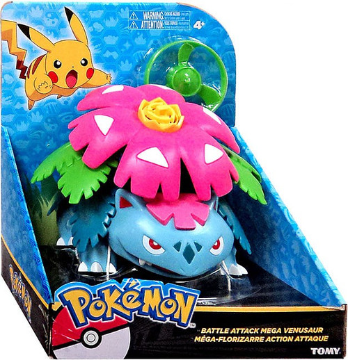 Pokemon Battle Attack Mega Venusaur 6-Inch Large Figure