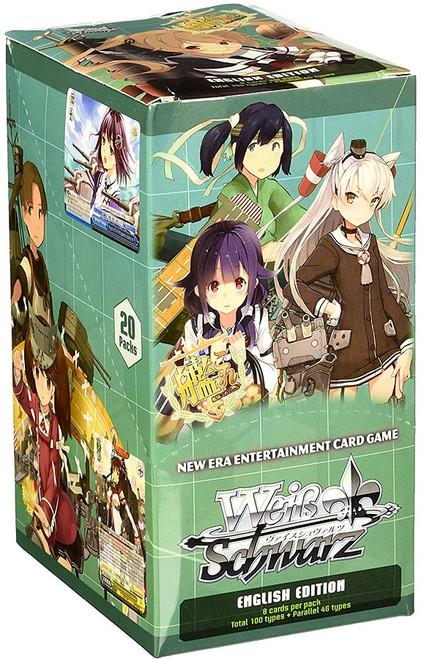 Weiss Schwarz KanColle 2nd Fleet (English) Booster Box [20 Packs]