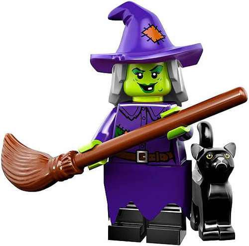 LEGO Minifigures Series 14 Crazy Witch Minifigure [Loose]