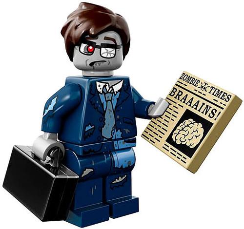 LEGO Minifigures Series 14 Zombie Businessman Minifigure [Loose]
