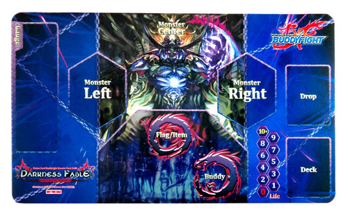 Future Card BuddyFight Trading Card Game Card Supplies Darkness Fable Playmat