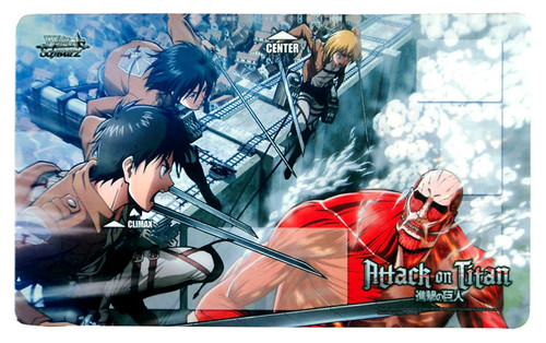Weiss Schwarz Card Supplies Attack on Titan Playmat