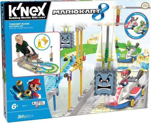 K'NEX Super Mario Mario Kart 8 Thwomp Ruins Set #38475