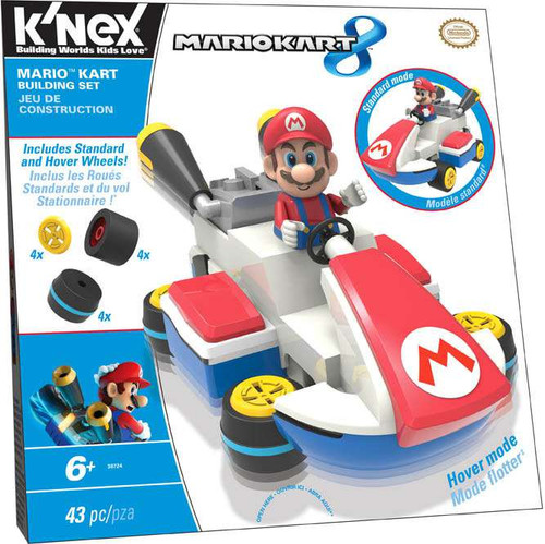 K'NEX Super Mario Mario Kart 8 Mario Kart Set #38724