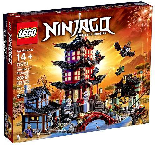 LEGO Ninjago Temple of Airjitzu Set #70751