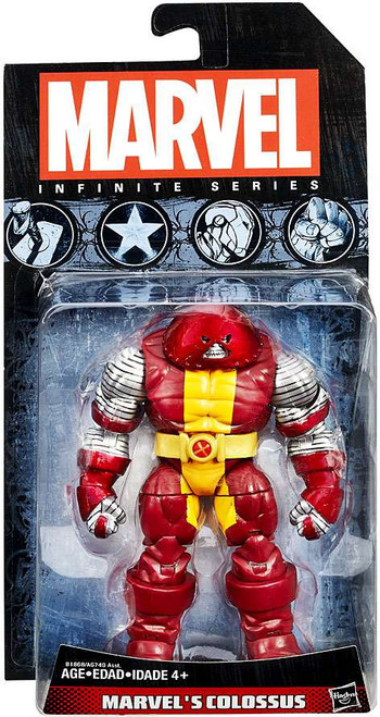Marvel X-Men Avengers Infinite 2015 Series 3 Colossus Action Figure [Juggerlossus]