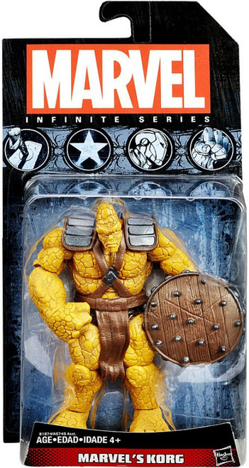 Marvel Hulk Avengers Infinite 2015 Series 3 Korg Action Figure
