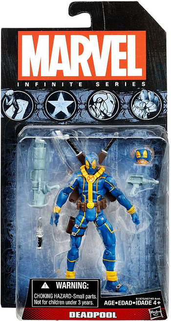 Marvel X-Men Avengers Infinite 2015 Series 3 Deadpool Action Figure [Blue X-Men Costume]