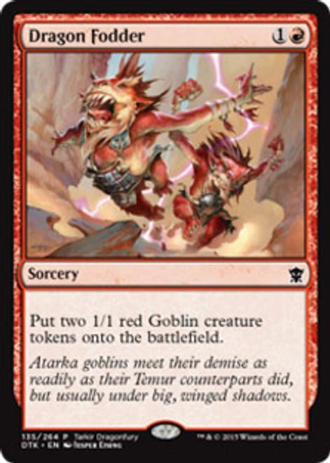 MtG Dragons of Tarkir Promo Dragon Fodder [Dragonfury Game Promo]