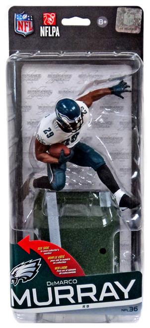 McFarlane Toys NFL Philadelphia Eagles Sports Picks Series 36 DeMarco Murray Action Figure [White Jersey Green Pants]